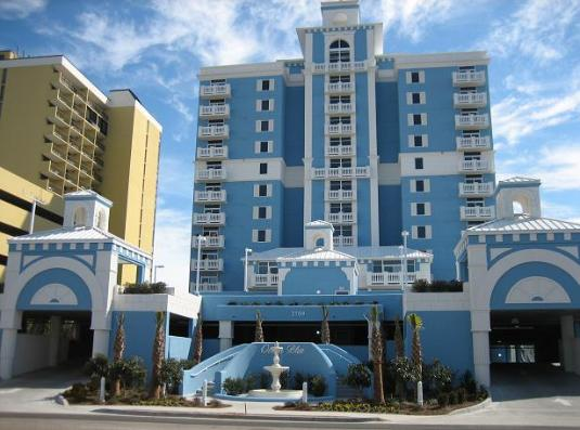 Ocean Blue Resort Logo
